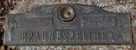 BRAUNESREITHER, ALBERT G. - Yankton County, South Dakota | ALBERT G. BRAUNESREITHER - South Dakota Gravestone Photos