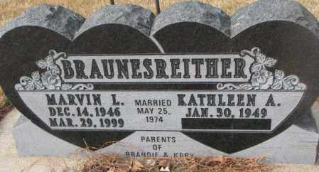 BRAUNESREITHER, MARVIN L. - Yankton County, South Dakota | MARVIN L. BRAUNESREITHER - South Dakota Gravestone Photos