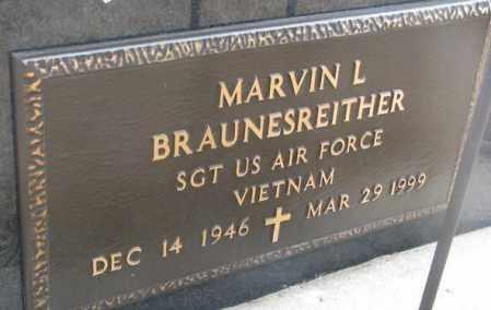 BRAUNESREITHER, MARVIN L. (VIETNAM) - Yankton County, South Dakota | MARVIN L. (VIETNAM) BRAUNESREITHER - South Dakota Gravestone Photos