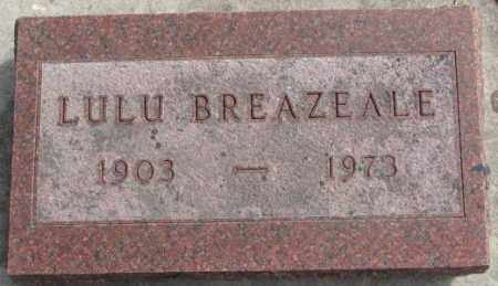 BREAZEALE, LULU - Yankton County, South Dakota | LULU BREAZEALE - South Dakota Gravestone Photos