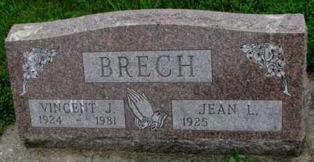 BRECH, JEAN L. - Yankton County, South Dakota | JEAN L. BRECH - South Dakota Gravestone Photos