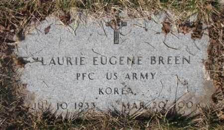 BREEN, LAURIE EUGENE - Yankton County, South Dakota   LAURIE EUGENE BREEN - South Dakota Gravestone Photos