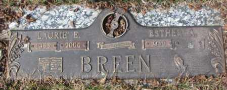 BREEN, LAURIE E. - Yankton County, South Dakota | LAURIE E. BREEN - South Dakota Gravestone Photos