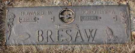 BRESAW, HOWARD W. - Yankton County, South Dakota | HOWARD W. BRESAW - South Dakota Gravestone Photos