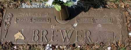 BREWER, CHARLES D. - Yankton County, South Dakota | CHARLES D. BREWER - South Dakota Gravestone Photos