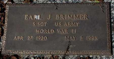 BRIMMER, EARL J. - Yankton County, South Dakota   EARL J. BRIMMER - South Dakota Gravestone Photos