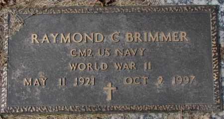 BRIMMER, RAYMOND C. - Yankton County, South Dakota | RAYMOND C. BRIMMER - South Dakota Gravestone Photos