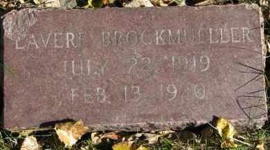 BROCKMUELLER, LAVERE - Yankton County, South Dakota | LAVERE BROCKMUELLER - South Dakota Gravestone Photos