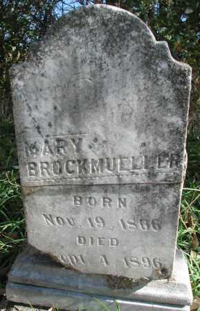 BROCKMUELLER, MARY - Yankton County, South Dakota | MARY BROCKMUELLER - South Dakota Gravestone Photos