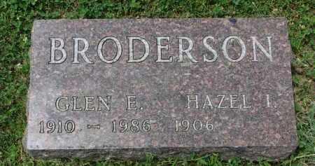 BRODERSON, HAZEL - Yankton County, South Dakota   HAZEL BRODERSON - South Dakota Gravestone Photos