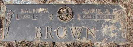 BROWN, RALPH W. - Yankton County, South Dakota | RALPH W. BROWN - South Dakota Gravestone Photos
