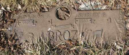 BROZ, SHIRLEY E. - Yankton County, South Dakota | SHIRLEY E. BROZ - South Dakota Gravestone Photos