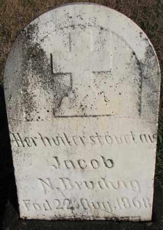 BRUDVIG, JACOB N. - Yankton County, South Dakota   JACOB N. BRUDVIG - South Dakota Gravestone Photos
