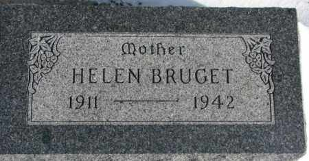 BRUGET, HELEN - Yankton County, South Dakota | HELEN BRUGET - South Dakota Gravestone Photos