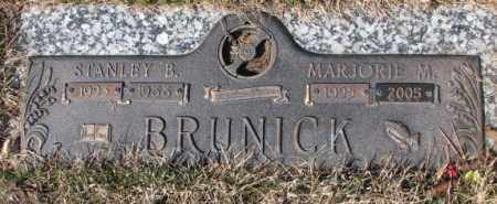 BRUNICK, STANLEY B. - Yankton County, South Dakota | STANLEY B. BRUNICK - South Dakota Gravestone Photos