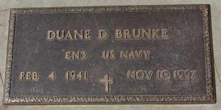 BRUNKE, DUANE D. (MILITARY) - Yankton County, South Dakota | DUANE D. (MILITARY) BRUNKE - South Dakota Gravestone Photos