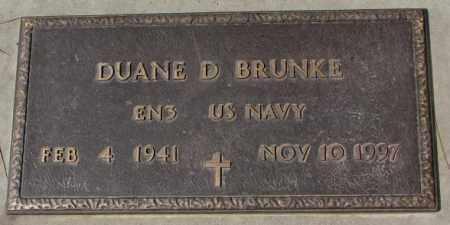 BRUNKE, DUANE D. (MILITARY) - Yankton County, South Dakota | DUANE D. (MILITARY) BRUNKE - South Dakota Gravestone Photos