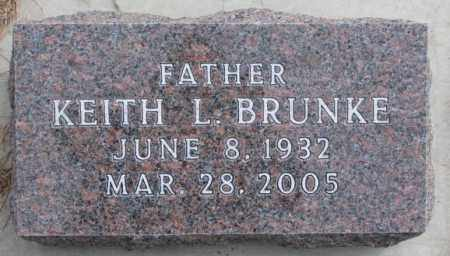 BRUNKE, KEITH L. - Yankton County, South Dakota | KEITH L. BRUNKE - South Dakota Gravestone Photos