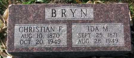 BRYN, IDA M. - Yankton County, South Dakota | IDA M. BRYN - South Dakota Gravestone Photos