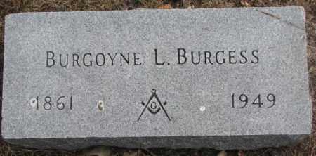 BURGESS, BURGOYNE L. - Yankton County, South Dakota | BURGOYNE L. BURGESS - South Dakota Gravestone Photos