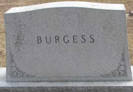 BURGESS, PLOT - Yankton County, South Dakota | PLOT BURGESS - South Dakota Gravestone Photos