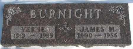 BURNIGHT, VERNE - Yankton County, South Dakota | VERNE BURNIGHT - South Dakota Gravestone Photos