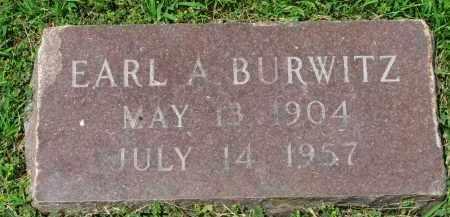 BURWITZ, EARL A. - Yankton County, South Dakota | EARL A. BURWITZ - South Dakota Gravestone Photos
