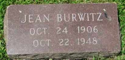 BURWITZ, JEAN - Yankton County, South Dakota | JEAN BURWITZ - South Dakota Gravestone Photos