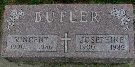 BUTLER, VINCENT - Yankton County, South Dakota | VINCENT BUTLER - South Dakota Gravestone Photos