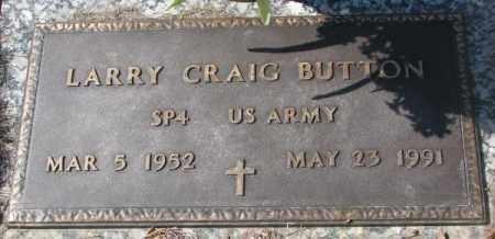 BUTTON, LARRY CRAIG - Yankton County, South Dakota | LARRY CRAIG BUTTON - South Dakota Gravestone Photos
