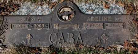 CABA, LOUIS M. - Yankton County, South Dakota | LOUIS M. CABA - South Dakota Gravestone Photos