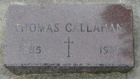 CALLAHAN, THOMAS - Yankton County, South Dakota | THOMAS CALLAHAN - South Dakota Gravestone Photos