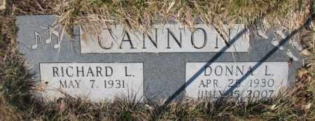CANNON, DONNA L. - Yankton County, South Dakota   DONNA L. CANNON - South Dakota Gravestone Photos