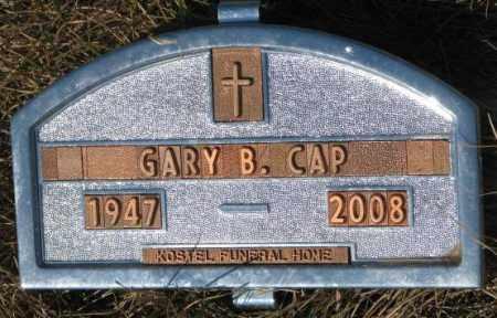 CAP, GARY B. - Yankton County, South Dakota | GARY B. CAP - South Dakota Gravestone Photos