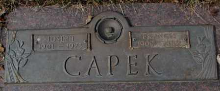 CAPEK, FRANCES - Yankton County, South Dakota   FRANCES CAPEK - South Dakota Gravestone Photos