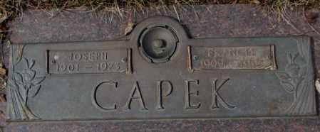 CAPEK, JOSEPH - Yankton County, South Dakota | JOSEPH CAPEK - South Dakota Gravestone Photos