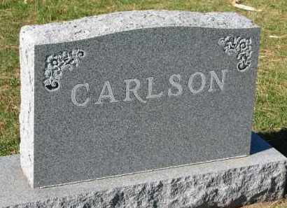 CARLSON, FAMILY STONE - Yankton County, South Dakota | FAMILY STONE CARLSON - South Dakota Gravestone Photos