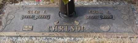 CARLSON, GLEN E. - Yankton County, South Dakota | GLEN E. CARLSON - South Dakota Gravestone Photos