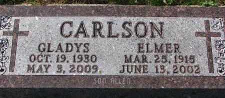 CARLSON, GLADYS - Yankton County, South Dakota | GLADYS CARLSON - South Dakota Gravestone Photos