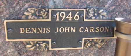 CARSON, DENNIS JOHN - Yankton County, South Dakota | DENNIS JOHN CARSON - South Dakota Gravestone Photos