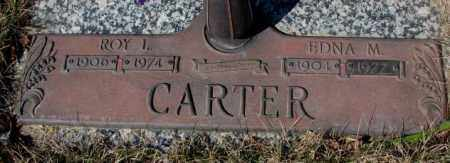 CARTER, EDNA M. - Yankton County, South Dakota | EDNA M. CARTER - South Dakota Gravestone Photos