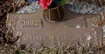 CAUGHEY, ONALEE M. - Yankton County, South Dakota | ONALEE M. CAUGHEY - South Dakota Gravestone Photos
