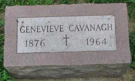 CAVANAGH, GENEVIEVE - Yankton County, South Dakota | GENEVIEVE CAVANAGH - South Dakota Gravestone Photos