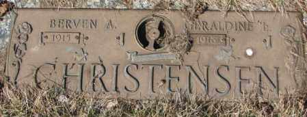 CHRISTENSEN, GERALDINE L. - Yankton County, South Dakota | GERALDINE L. CHRISTENSEN - South Dakota Gravestone Photos