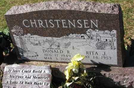 CHRISTENSEN, DONALD R. - Yankton County, South Dakota   DONALD R. CHRISTENSEN - South Dakota Gravestone Photos