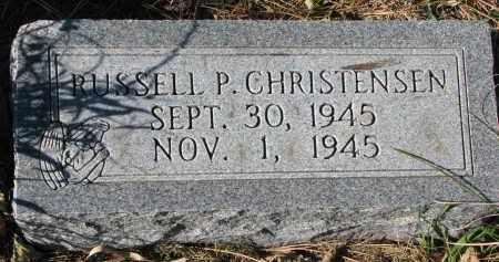 CHRISTENSEN, RUSSELL P. - Yankton County, South Dakota | RUSSELL P. CHRISTENSEN - South Dakota Gravestone Photos