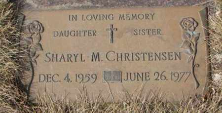 CHRISTENSEN, SHARYL M. - Yankton County, South Dakota | SHARYL M. CHRISTENSEN - South Dakota Gravestone Photos