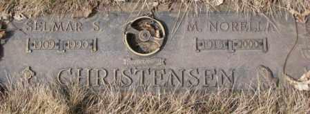 CHRISTENSEN, M. NORELLA - Yankton County, South Dakota | M. NORELLA CHRISTENSEN - South Dakota Gravestone Photos