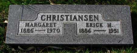 CHRISTIANSEN, MARGARET - Yankton County, South Dakota | MARGARET CHRISTIANSEN - South Dakota Gravestone Photos