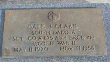 CLARK, DALE J. - Yankton County, South Dakota | DALE J. CLARK - South Dakota Gravestone Photos